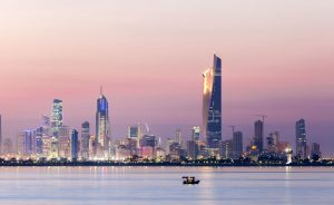 kuwait-skyline-night